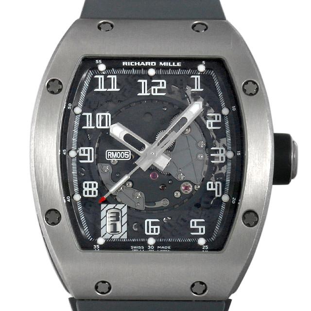 【48回払いまで無金利】リシャールミル オートマティック RM005 AE TI メンズ(009VRMAU0001)【中古】【腕時計】【送料無料】