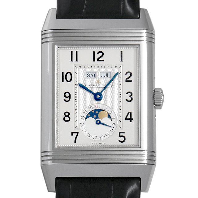 【48回払いまで無金利】ジャガールクルト グランド レベルソ カレンダー Q3758420(273.8.84) メンズ(0175JLAU0002)【中古】【腕時計】【送料無料】