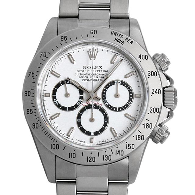 【48回払いまで無金利】SALE ロレックス コスモグラフ デイトナ T番 16520 ホワイト メンズ(03U0ROAU0004)【中古】【腕時計】【送料無料】