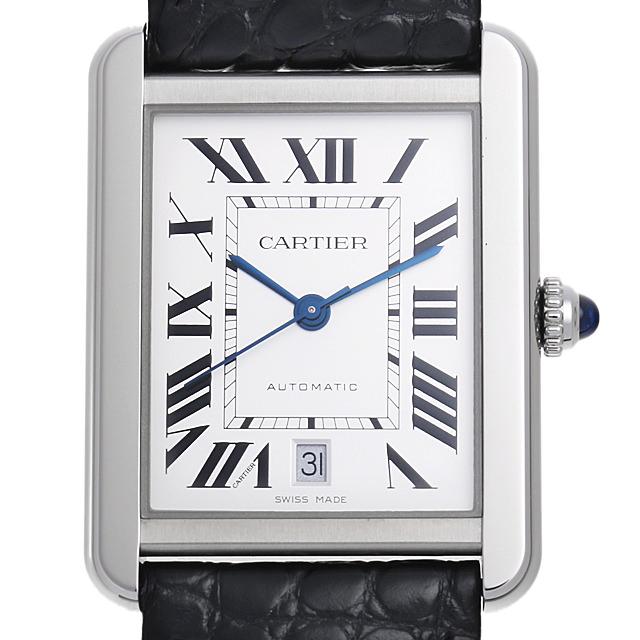 【48回払いまで無金利】カルティエ タンクソロ XL W5200027 メンズ(0AG3CAAU0001)【中古】【腕時計】【送料無料】