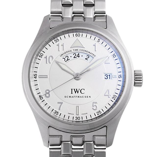 IWC フリーガーUTC スピットファイア IW325108 メンズ(0AVDIWAU0001)【中古】【腕時計】【送料無料】