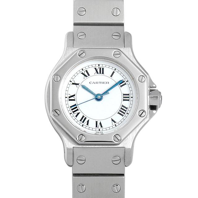 【48回払いまで無金利】カルティエ サントス オクタゴン SM レディース(0BCCCAAU0005)【中古】【腕時計】【送料無料】