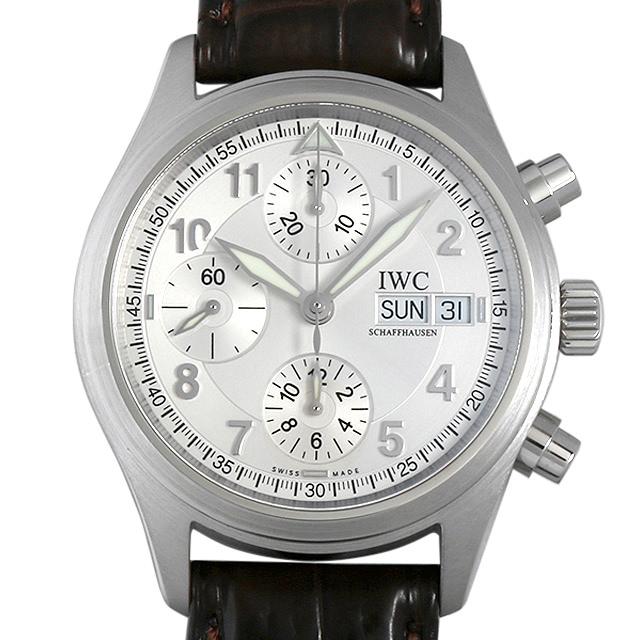 【48回払いまで無金利】IWC スピットファイア クロノグラフ オートマティック IW370623 メンズ(0DQDIWAU0001)【中古】【腕時計】【送料無料】