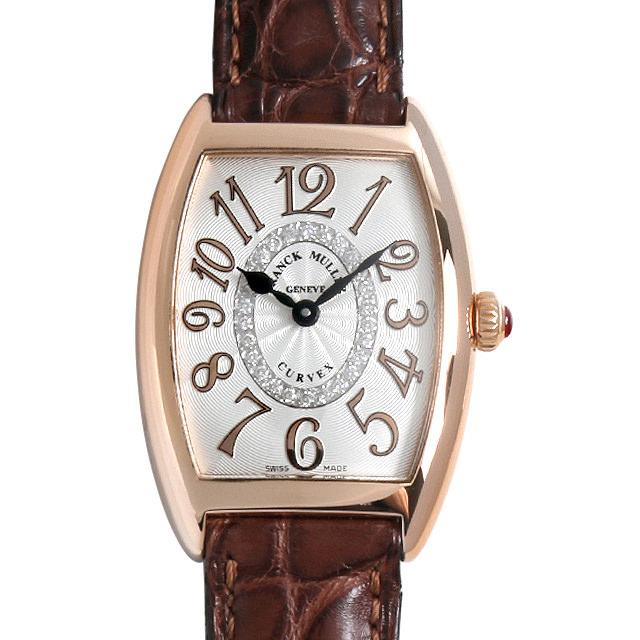 【48回払いまで無金利】SALE フランクミュラー トノーカーベックス レリーフ ダイヤモンド 1752QZ CD1R RELIEF 5N レディース(0E1EFRAU0001)【中古】【腕時計】【送料無料】