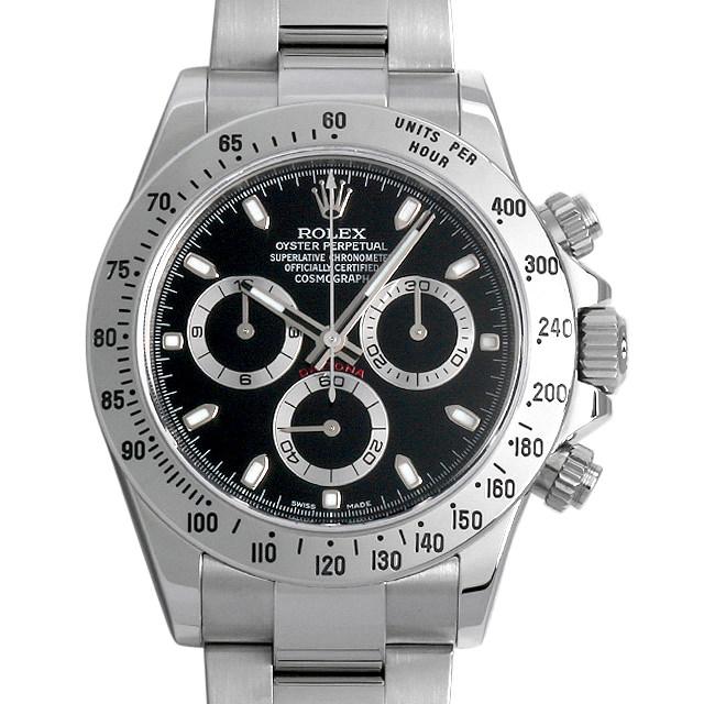 【48回払いまで無金利】SALE ロレックス コスモグラフ デイトナ ランダムシリアル 116520 ブラック メンズ(0E2QROAU0001)【中古】【腕時計】【送料無料】