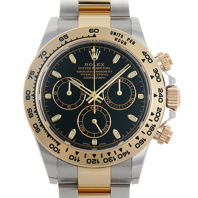 【48回払いまで無金利】ロレックス デイトナ 116503 ブラック メンズ(002XROAN0007)【新品】【腕時計】【送料無料】