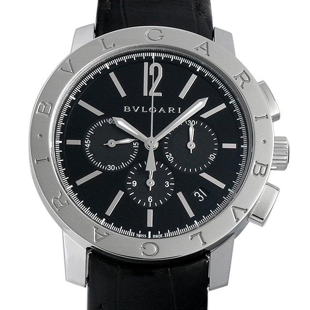 【48回払いまで無金利】ブルガリ ブルガリブルガリ クロノグラフ BB41BSLDCH メンズ(006MBVAR0011)【新品】【腕時計】【送料無料】