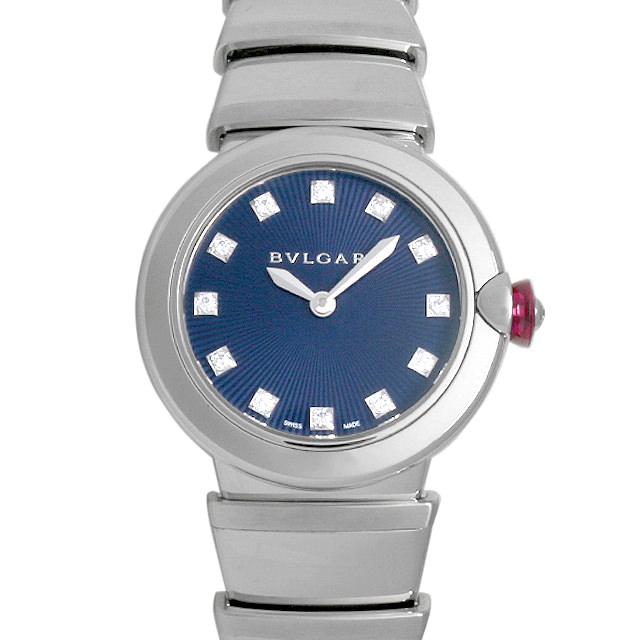 【48回払いまで無金利】ブルガリ ルチェア LU28C3SS/12 レディース(006MBVAR0010)【新品】【腕時計】【送料無料】
