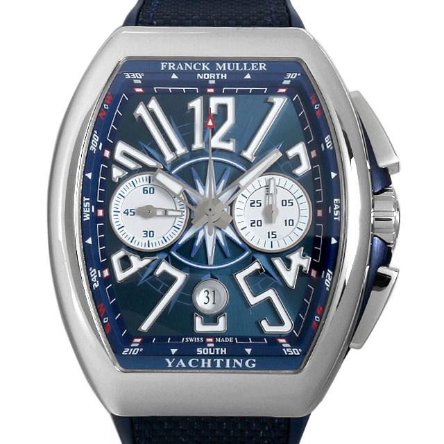 【48回払いまで無金利】フランクミュラー ヴァンガード ヨッティング クロノグラフ V45 CC DT YACHTING ACBL メンズ(0066FRAN0006)【新品】【腕時計】【送料無料】
