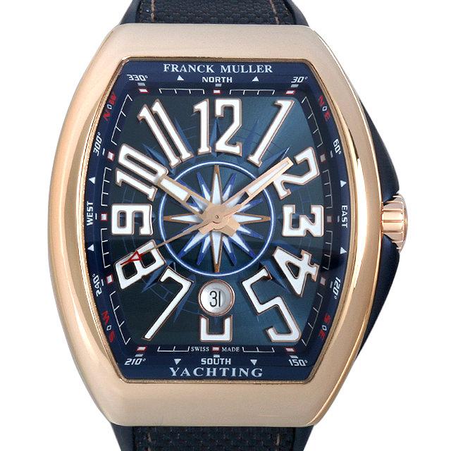 【48回払いまで無金利】フランクミュラー ヴァンガード ヨッティング V45SCDT5NBL メンズ(0066FRAN0066)【新品】【腕時計】【送料無料】