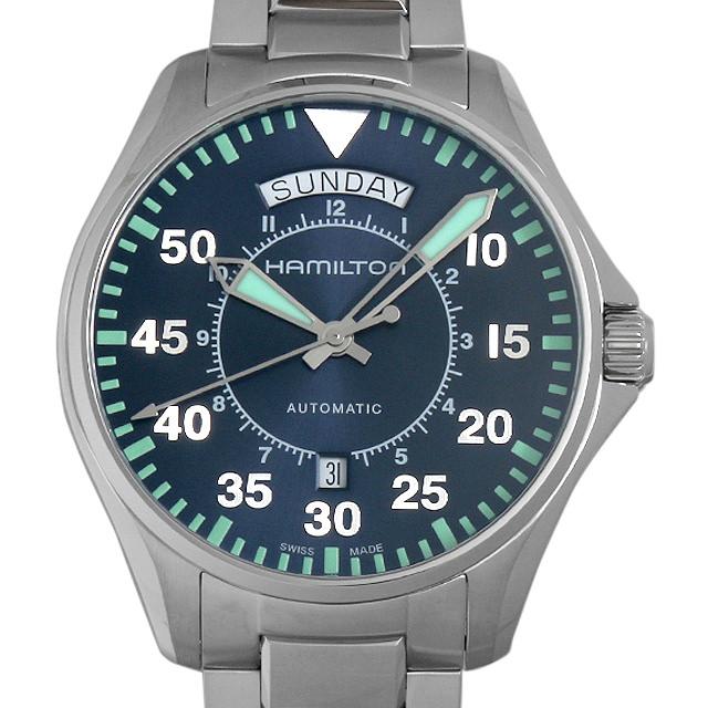 【48回払いまで無金利】ハミルトン カーキ パイロット デイデイト オート H64615145 メンズ(006THMAN0011)【新品】【腕時計】【送料無料】