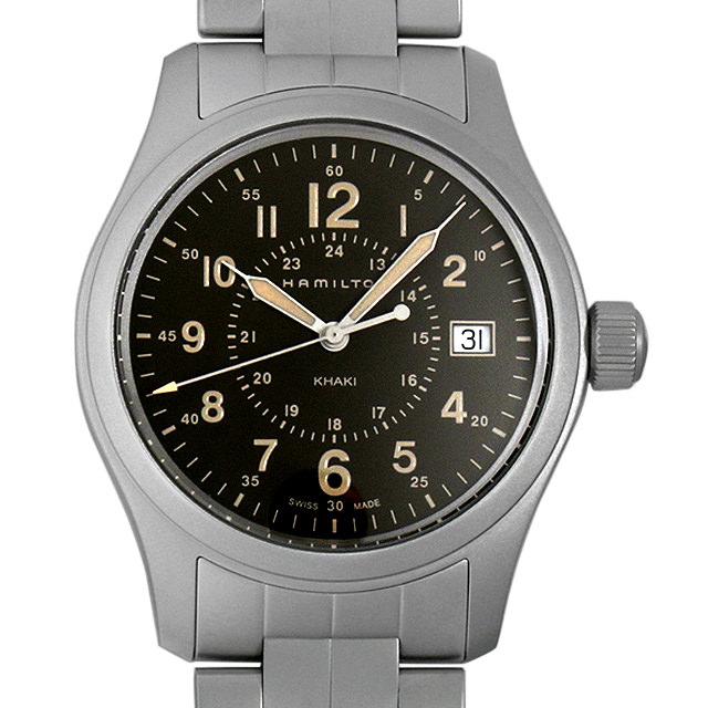 【48回払いまで無金利】ハミルトン カーキ フィールド クォーツ H68201193 メンズ(006THMAN0024)【新品】【腕時計】【送料無料】