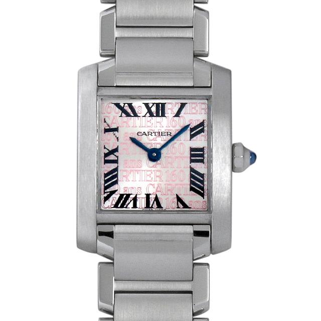 【48回払いまで無金利】カルティエ タンクフランセーズ 創立160周年アジア限定モデル W51035Q3 レディース(001HCAAU0081)【中古】【腕時計】【送料無料】