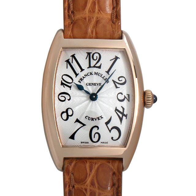 【48回払いまで無金利】フランクミュラー トノーカーベックス サンセット 1752QZ 5N レディース(001HFRAU0065)【中古】【腕時計】【送料無料】