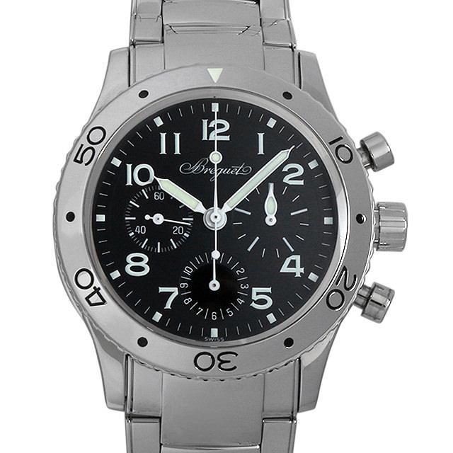 【48回払いまで無金利】ブレゲ アエロナバル 3800ST/92/SW9 メンズ(006XBCAU0028)【中古】【腕時計】【送料無料】