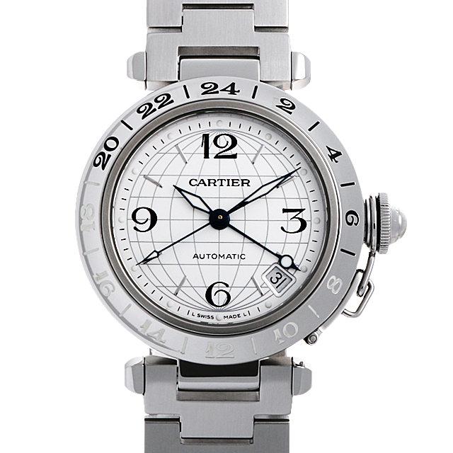 【48回払いまで無金利】カルティエ パシャC GMT メリディアン W31078M7 ボーイズ(ユニセックス)(006XCAAU0126)【中古】【腕時計】【送料無料】