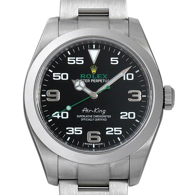 【48回払いまで無金利】ロレックス エアキング 116900 メンズ(006XROAU0581)【中古】【腕時計】【送料無料】