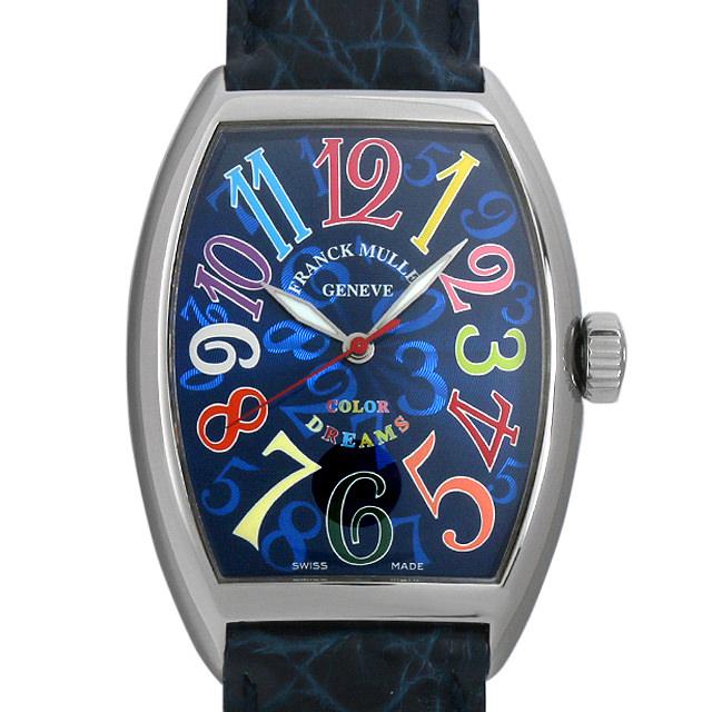 【48回払いまで無金利】フランクミュラー トノーカーベックス カラードリーム 7851/SC COLOR DREAMS メンズ(007UFRAU0120)【中古】【腕時計】【送料無料】