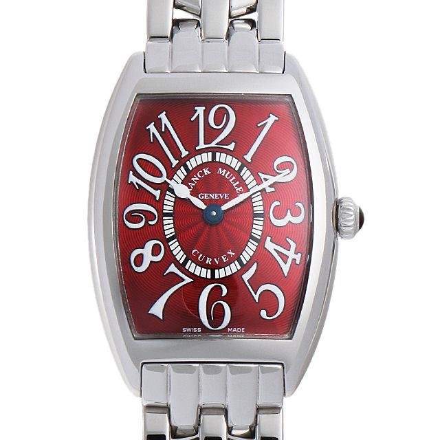 【48回払いまで無金利】SALE フランクミュラー トノーカーベックス レッドカーペット 1752QZ RED CARPET OAC レディース(007UFRAU0122)【中古】【腕時計】【送料無料】