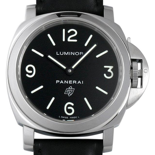 【48回払いまで無金利】パネライ ルミノールベース ロゴ O番 PAM00000 メンズ(0087OPAU0020)【中古】【腕時計】【送料無料】