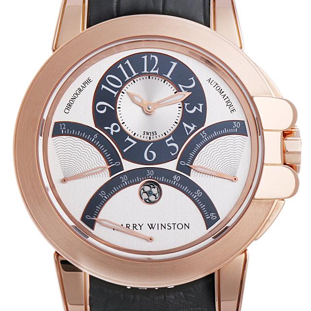【48回払いまで無金利】ハリーウィンストン オーシャン クロノグラフ トリプルレトログラード 400/MCRA44RL.W メンズ(01E9HWAU0001)【中古】【腕時計】【送料無料】