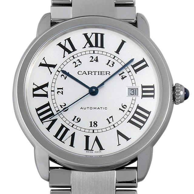 【48回払いまで無金利】カルティエ ロンド ソロ ドゥ カルティエ XL W6701011 メンズ(01WDCAAU0001)【中古】【腕時計】【送料無料】