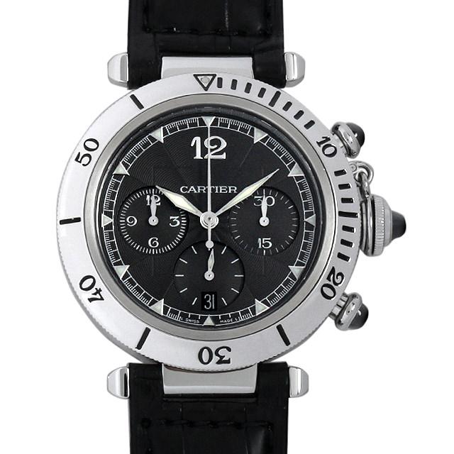 【48回払いまで無金利】カルティエ パシャ N950 クロノグラフ W3105155 メンズ(044MCAAU0001)【中古】【腕時計】【送料無料】