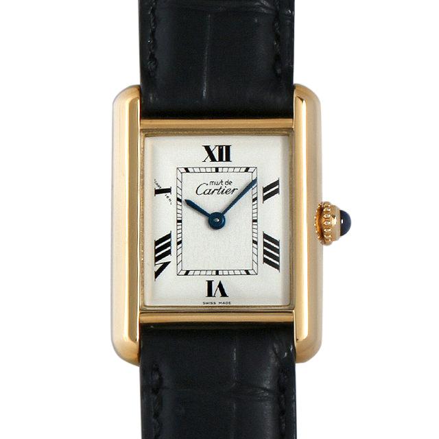 【48回払いまで無金利】カルティエ マストタンク ヴェルメイユ SM W107730 レディース(0A89CAAU0013)【中古】【腕時計】【送料無料】