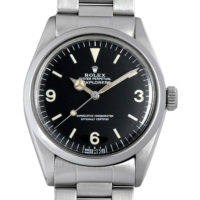 【48回払いまで無金利】SALE ロレックス エクスプローラーI 80番 1016 メンズ(0BIIROAA0001)【アンティーク】【腕時計】【送料無料】
