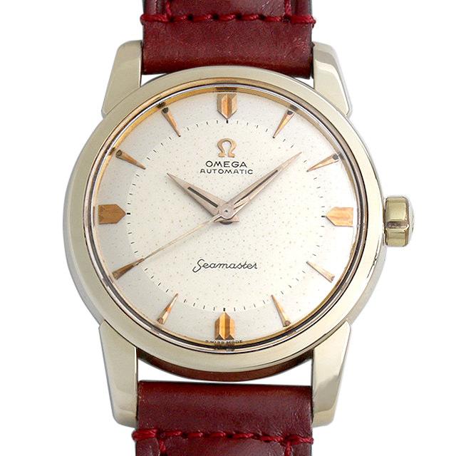 【48回払いまで無金利】オメガ シーマスター Cal.501 2846-5-SC メンズ(0DBFOMAA0001)【アンティーク】【腕時計】【送料無料】