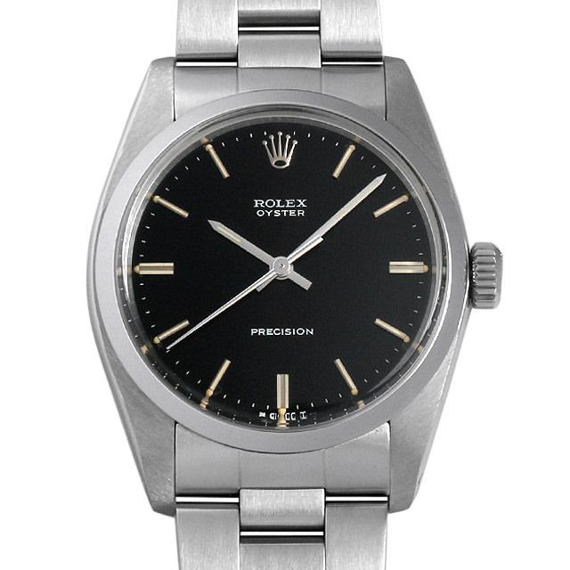 【48回払いまで無金利】ロレックス オイスター プレシジョン 87番 6426 ブラック メンズ(0DU9ROAA0001)【アンティーク】【腕時計】【送料無料】