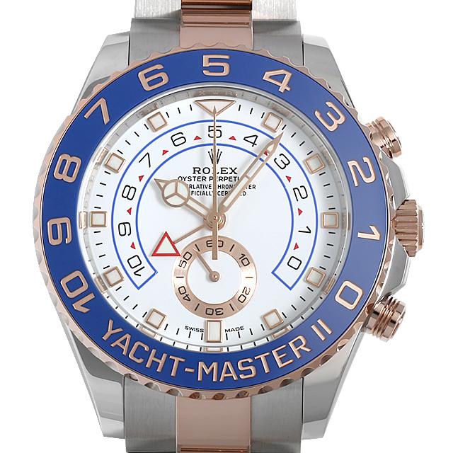 【48回払いまで無金利】ロレックス ヨットマスターII 116681 最新型 メンズ(0CCTROAN0015)【新品】【腕時計】【送料無料】