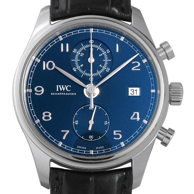 【48回払いまで無金利】IWC ポルトギーゼ クロノグラフ クラシック IW390303 メンズ(007NIWAN0240)【新品】【腕時計】【送料無料】