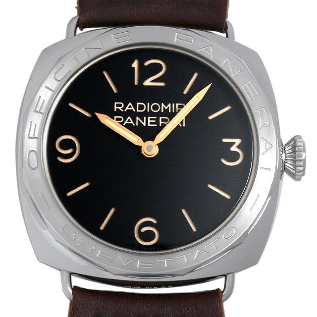 【48回払いまで無金利】パネライ ラジオミール 3デイズ アッチャイオ PAM00685 メンズ(0088OPAN0003)【新品】【腕時計】【送料無料】