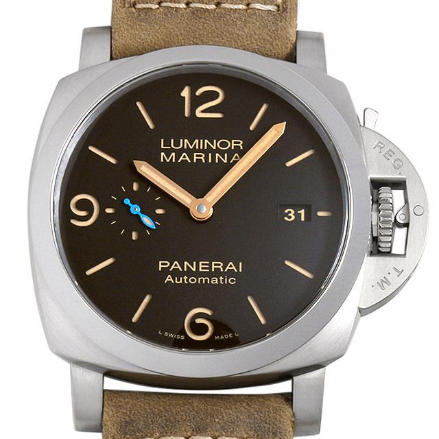 【48回払いまで無金利】パネライ ルミノール マリーナ 1950 3デイズ オートマチック チタニオ PAM01351 メンズ(0088OPAN0024)【新品】【腕時計】【送料無料】