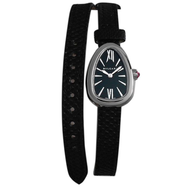 【48回払いまで無金利】ブルガリ セルペンティ スキン SPS27BSL レディース(0064BVAR0001)【新品】【腕時計】【送料無料】