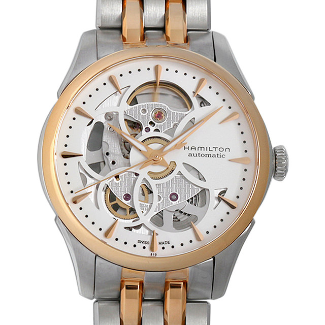 【48回払いまで無金利】ハミルトン ジャズマスター ビューマチック スケルトン レディ オート H32425251 レディース(006THMAN0034)【新品】【腕時計】【送料無料】