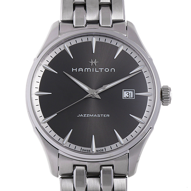 【48回払いまで無金利】ハミルトン ジャズマスター ジェント H32451181 メンズ(006THMAN0168)【新品】【腕時計】【送料無料】【キャッシュレス5%還元】