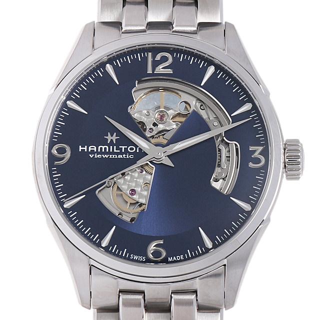 【48回払いまで無金利】ハミルトン ジャズマスター オープンハート H32705141 メンズ(006THMAN0140)【新品】【腕時計】【送料無料】