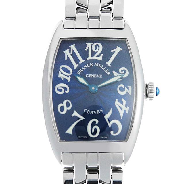 【48回払いまで無金利】フランクミュラー トノーカーベックス 1752QZ OAC レディース(001HFRAU0067)【中古】【腕時計】【送料無料】