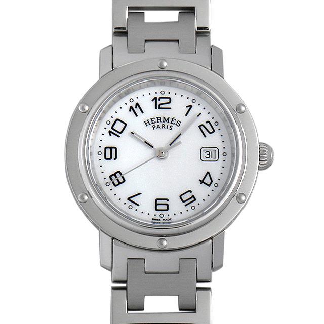 【48回払いまで無金利】エルメス クリッパー CL6.410 レディース(006THEAU0002)【中古】【腕時計】【送料無料】