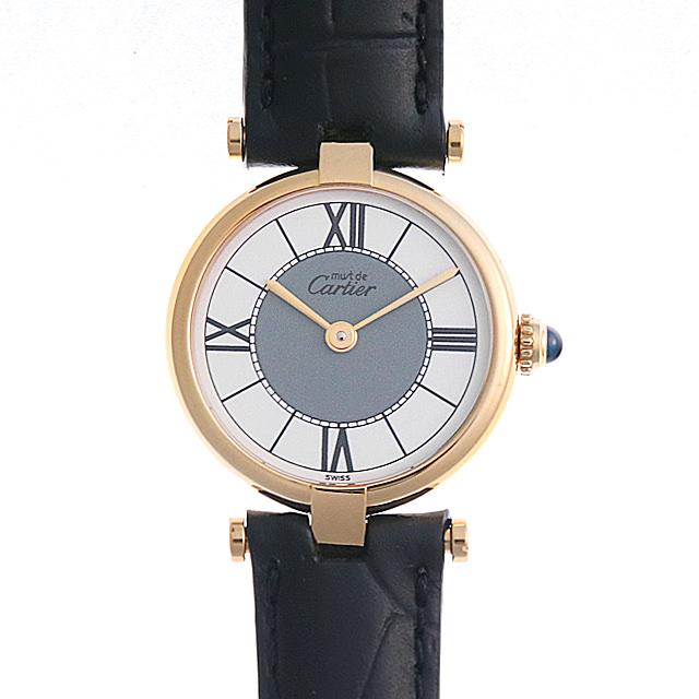 【48回払いまで無金利】カルティエ マストヴァンドーム SM レディース(006XCAAU0135)【中古】【腕時計】【送料無料】
