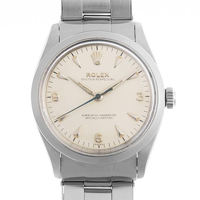 【48回払いまで無金利】ロレックス オイスターパーペチュアル Cal.1030 6569 アイボリー/クサビ メンズ(006XROAA0087)【アンティーク】【腕時計】【送料無料】