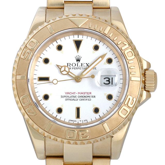【48回払いまで無金利】SALE ロレックス ヨットマスター S番 16628 メンズ(006XROAU0596)【中古】【腕時計】【送料無料】