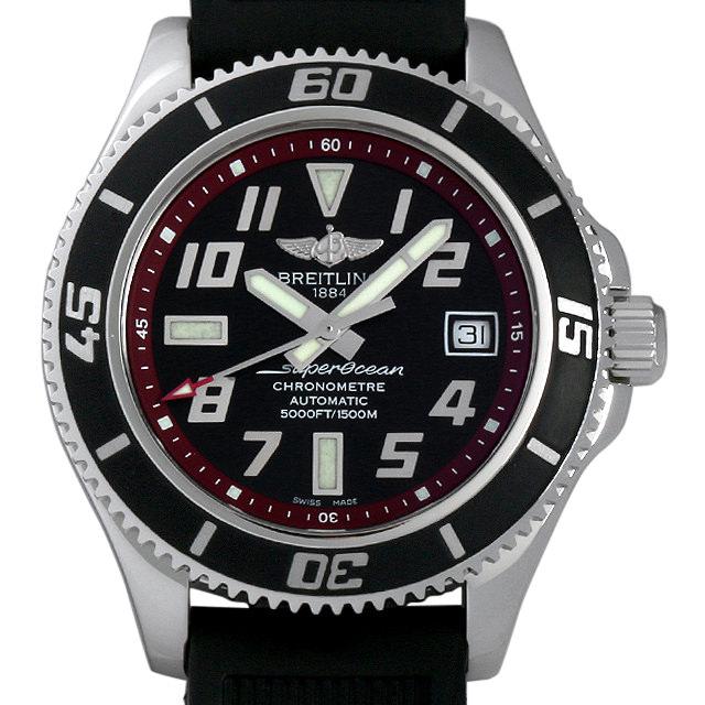 【48回払いまで無金利】ブライトリング スーパーオーシャン42 A187B31ORC(A17364) メンズ(007UBRAU0060)【中古】【腕時計】【送料無料】