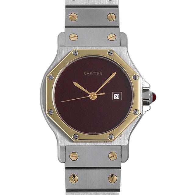 【48回払いまで無金利】カルティエ サントスオクタゴン レディース(007UCAAU0095)【中古】【腕時計】【送料無料】