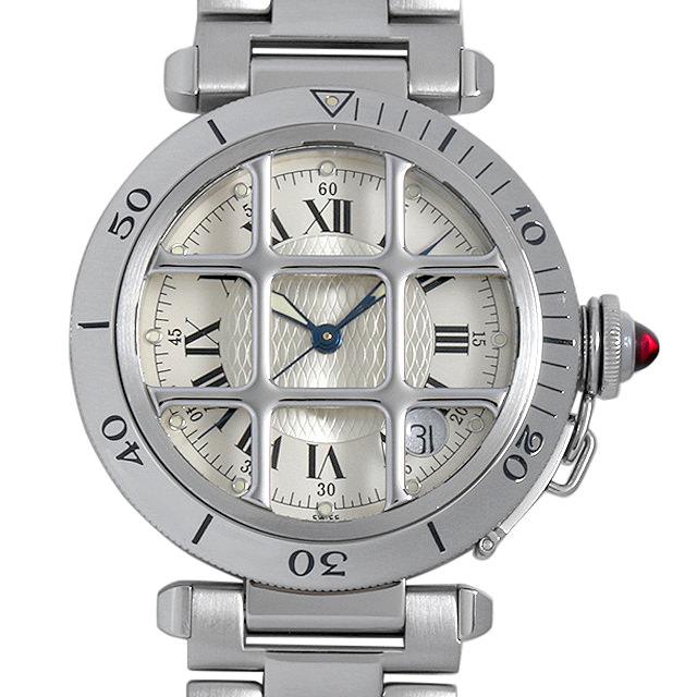 【48回払いまで無金利】カルティエ パシャ 150周年記念モデル 限定1847本 W3102255 メンズ(007UCAAU0104)【中古】【腕時計】【送料無料】