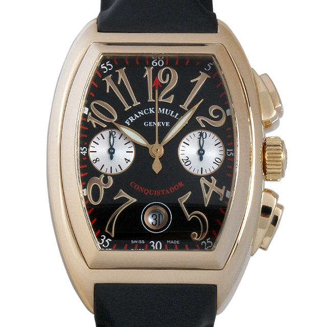 【48回払いまで無金利】フランクミュラー コンキスタドール クロノグラフ 8002CC 3N メンズ(007UFRAU0116)【中古】【腕時計】【送料無料】