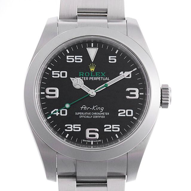 【48回払いまで無金利】SALE ロレックス エアキング 116900 メンズ(007UROAU0266)【中古】【腕時計】【送料無料】