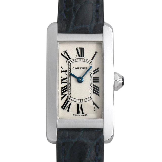 【48回払いまで無金利】カルティエ タンクアメリカン W2601956 レディース(0087CAAU0055)【中古】【腕時計】【送料無料】